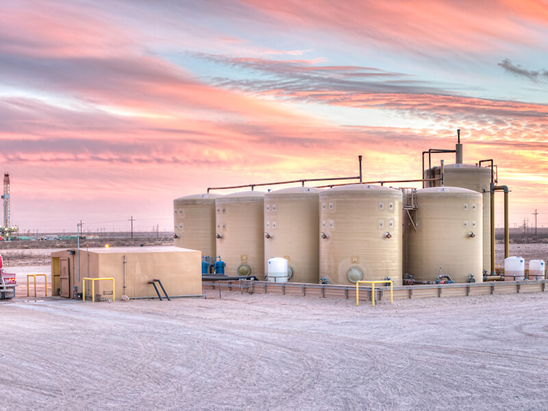 Disposal and Recycling Oilfield Water Management Software
